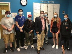 Dr. McCarthy & Students
